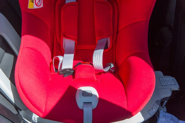 The Cozy N Safe Merlin car seat is very comfy