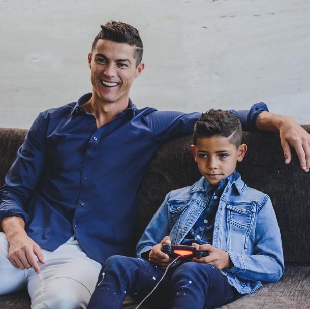 Cristiano Ronaldo Kinder