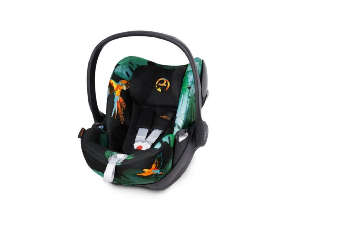 Cybex Cloud Q car seat is well padded