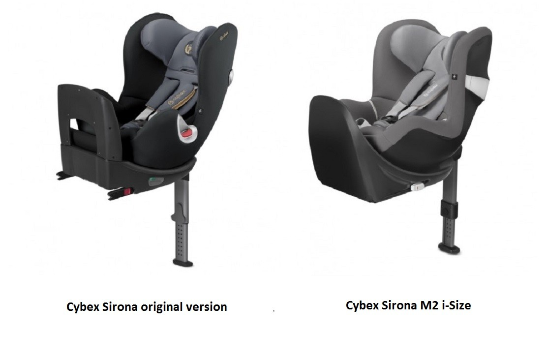 Cybex Sirona M2 i-Size has some key differences