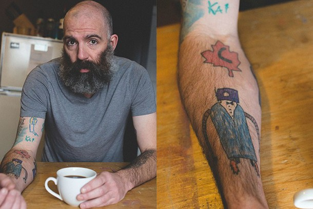 dad-tattoos-his-sons-drawings-up-his-arms_83504