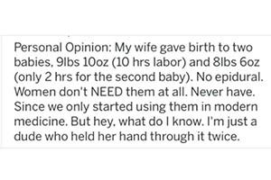 dad-tweets-women-dont-need-epidurals_190512