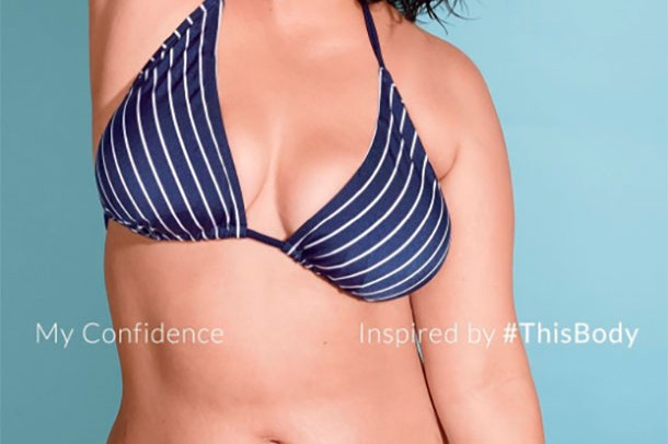 Girls in bikinis with stretch marks Bikini Ad Campaign Features Model With Stretch Marks Madeformums