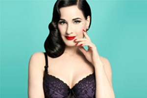 da6d3bc3d73 Dita Von Teese creates glamorous retro maternity lingerie for new mothers -  MadeForMums