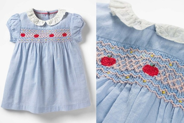 charlotte blue dress