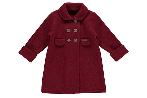 princess charlotte red coat