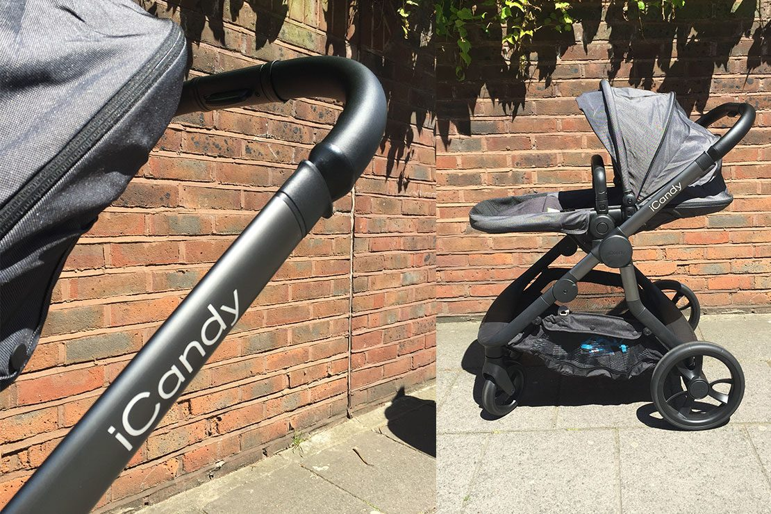 Black Ride On Board With Saddle Compatible With iCandy Apple 2 Pear
