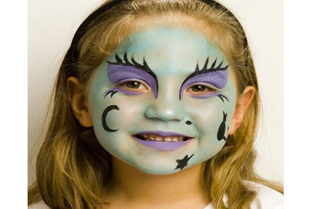 Witch Face Paint Step By Step Madeformums