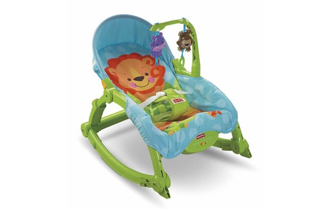 Fisher-Price Newborn-To-Toddler Portable Rocker - Bouncer & rocker ...