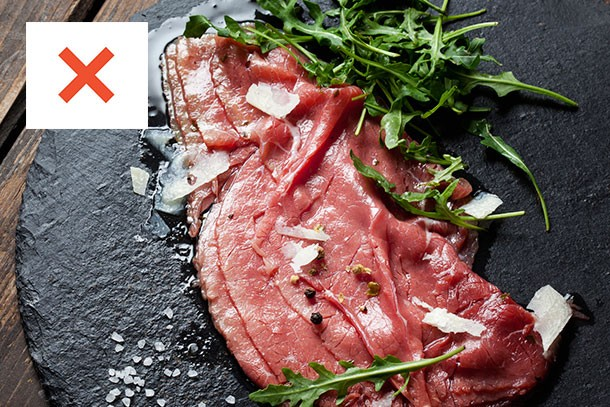 foods-to-avoid-when-pregnant_carpaccio