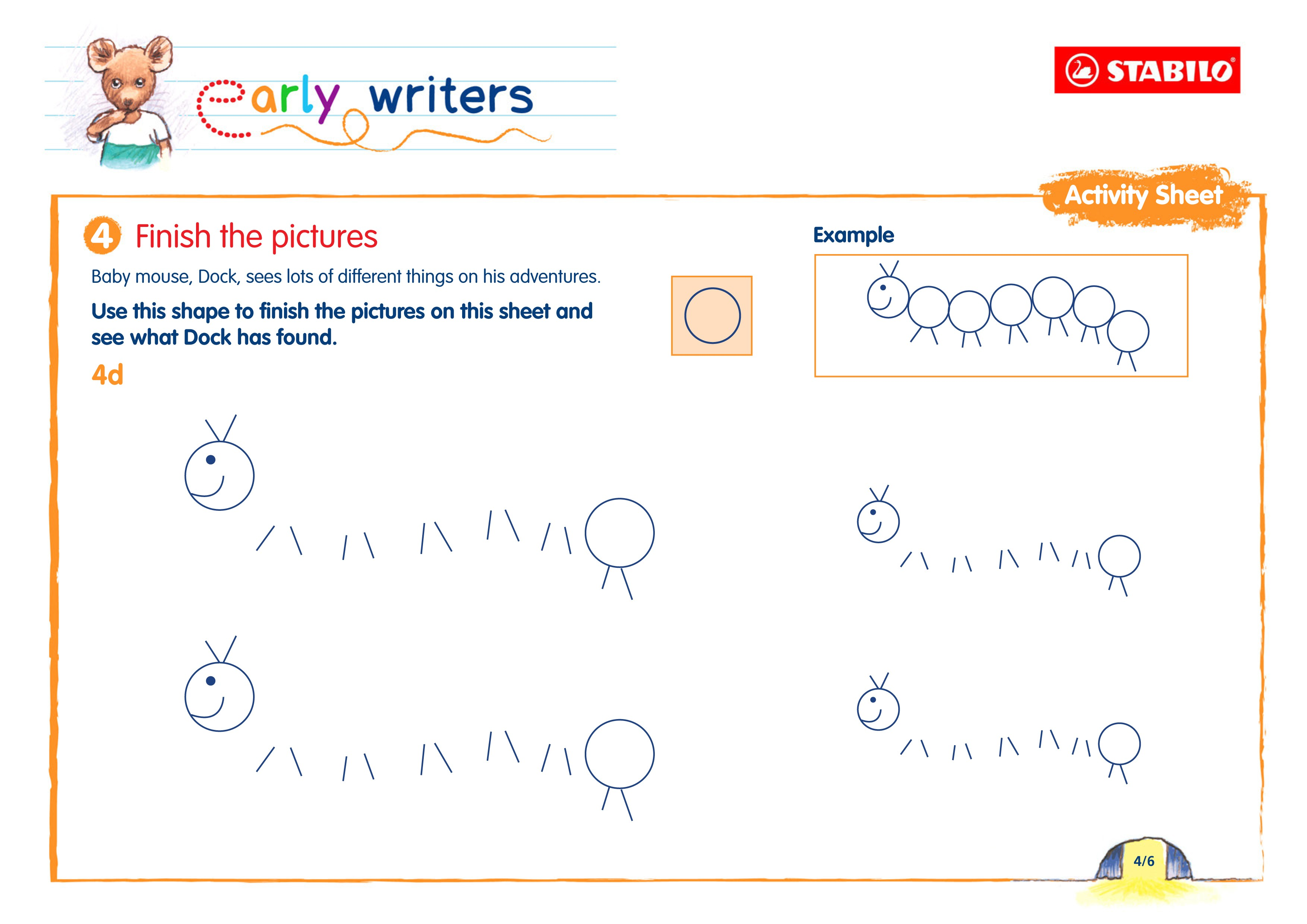 Free early writing activity sheets to print out - MadeForMums