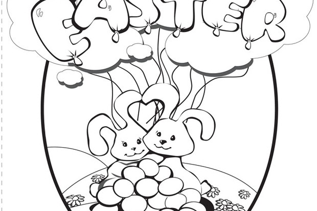 school projects easter coloring pages - photo#25