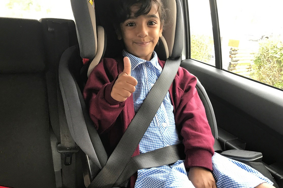 Graco Nautilus Elite can be used for older children with the car seat belt