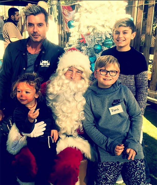 gavin rossdale and sons