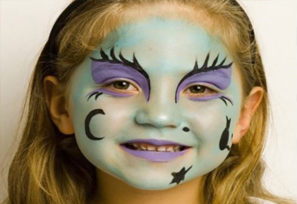 witch face paint