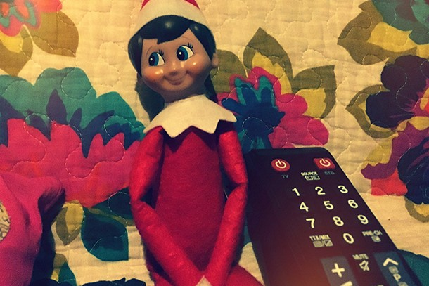 has-anyone-else-caught-their-elf-on-the-shelf-slacking-off_134484
