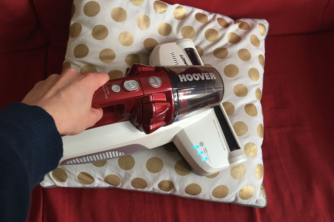 Hoover Ultramatt on cushion