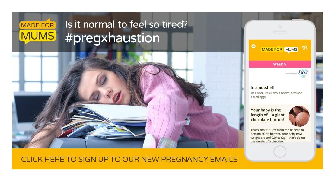 Tiredness in pregnancy