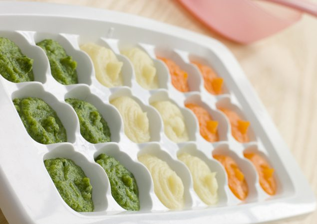 Mini Freezer Pots Homemade Baby Weaning Food /& Breast Milk Storing Containers