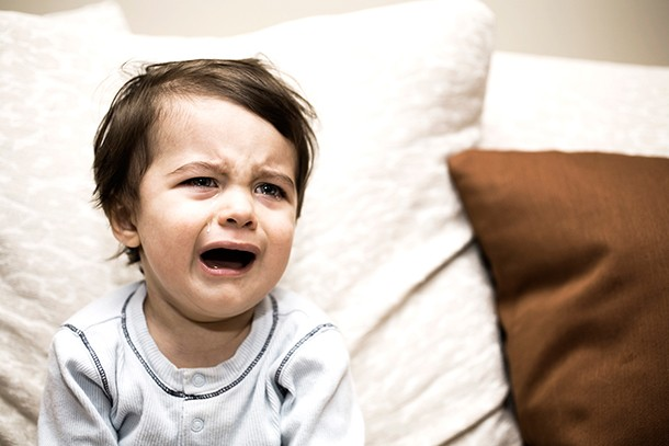toddler crying at bedtime