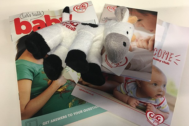 cow and gate baby club welcome pack