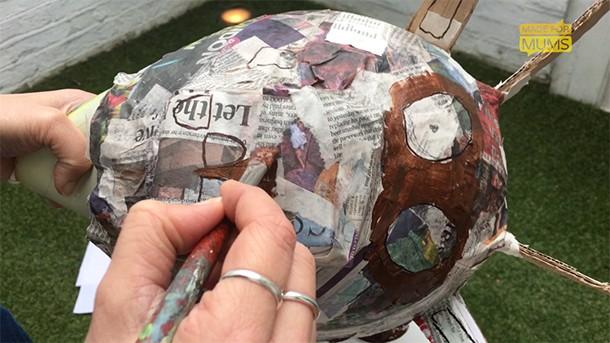 paint your gruffalo mask