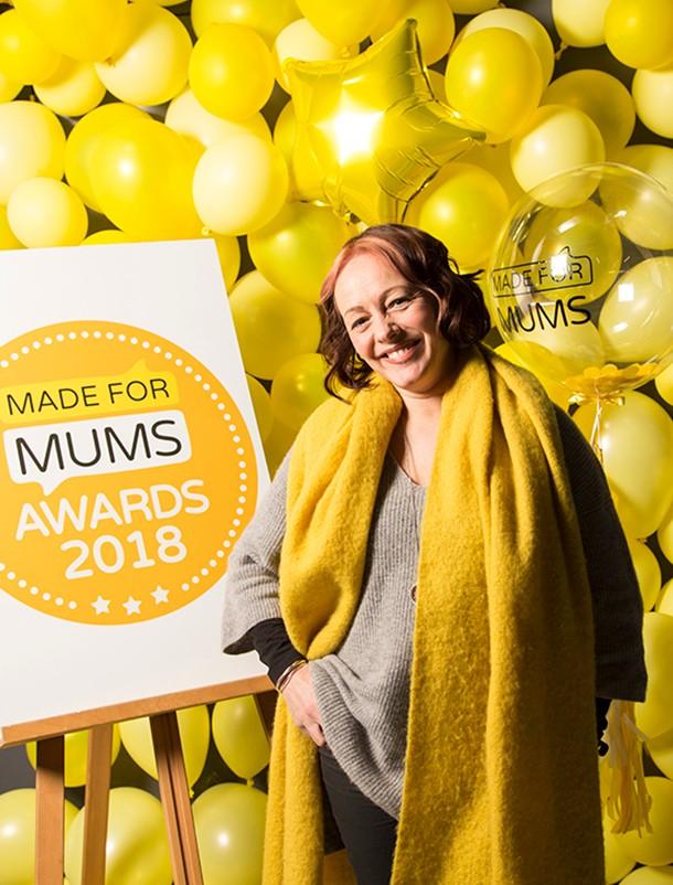 sarah cawood madeformums awards