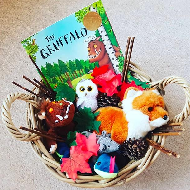 becky treasure baskets