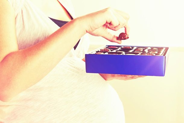 TISHA: Is it safe to eat chocolate while pregnant