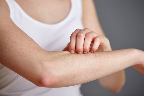 itchy arm in pregnancy