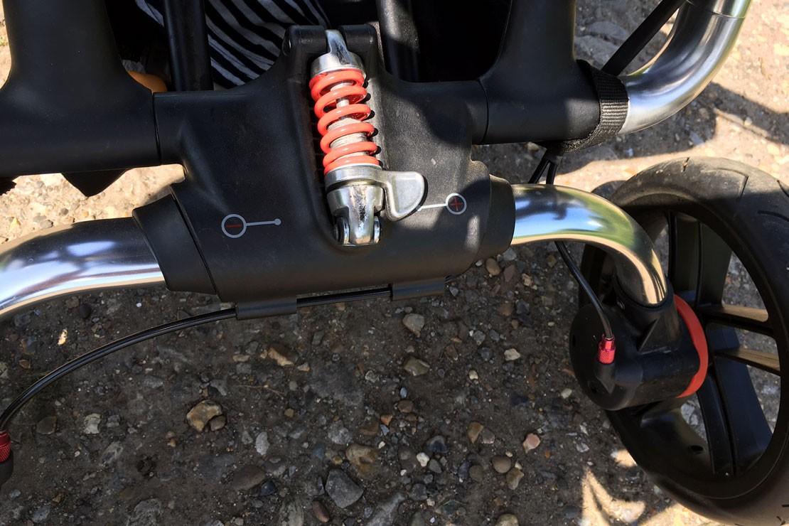 Jane Trider has adjustable suspension