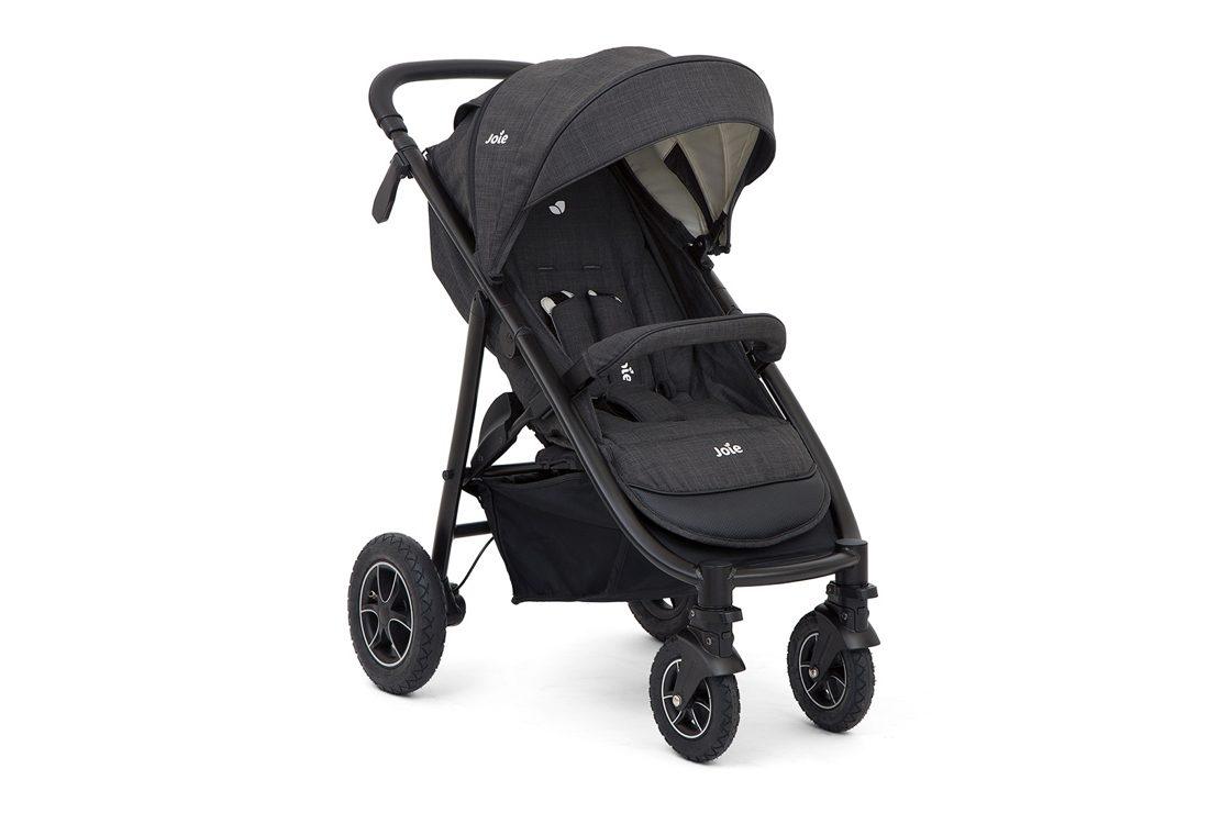 Joie Litetrax chromium grey Pushchair Stroller 4 wheeler Including raincover