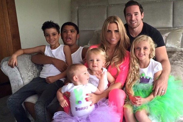 Katie Price Shares Gorgeous Family Picture Of Her Five Kids And Husband Kieran Madeformums