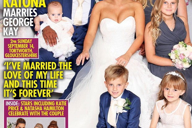 Kerry Katona's Child-focused Wedding As Katie Price Pulls