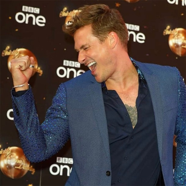 lee ryan strictly