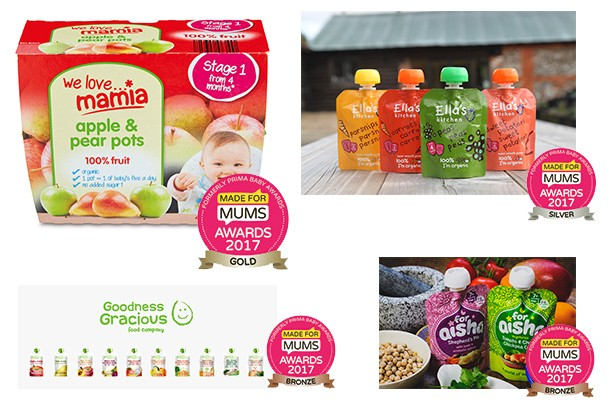 Best baby food product/range MFM Awards 2017