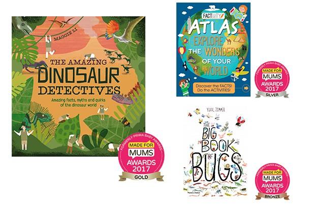 Best books for children aged 5-8 years MFM Awards 2017