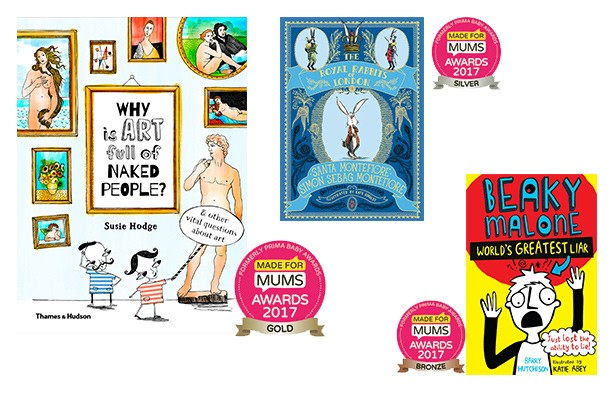 Best books for children aged 9-12 MFM Awards 2017