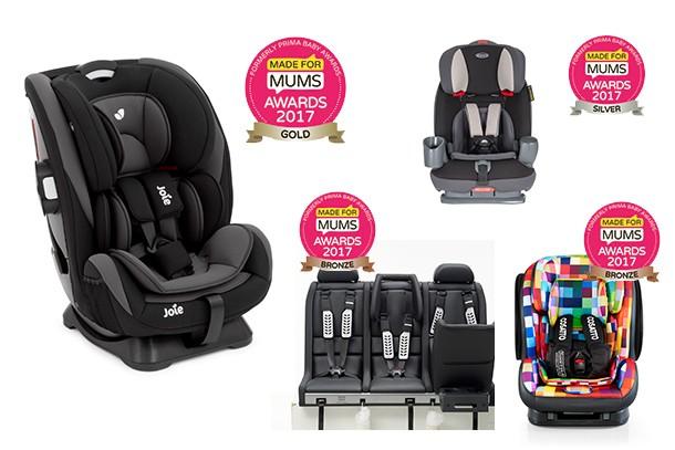 Best multi-stage car seat MFM Awards 2017