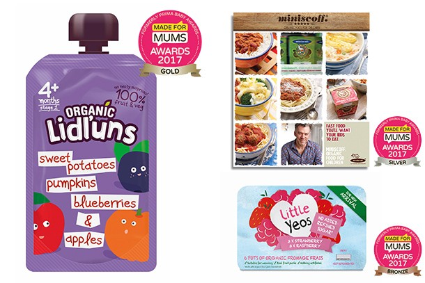 Best organic baby and toddler food MFM Awards 2017