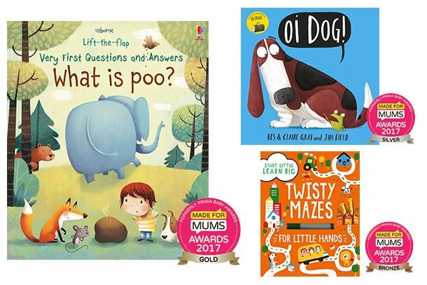 Best book for preschoolers MFM Awards 2017