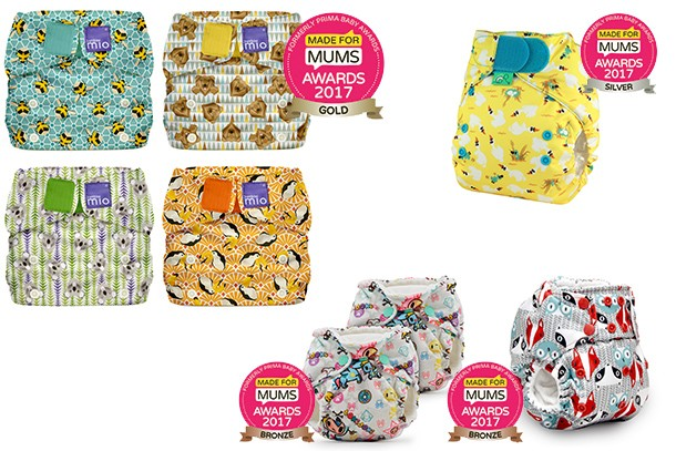 Best reusable nappies MFM Awards 2017