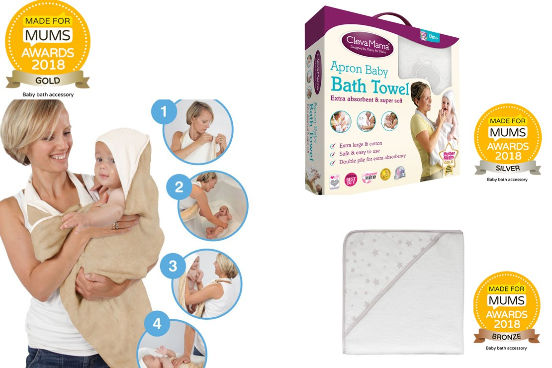 Baby bath accessory winners MFM Awards 2018