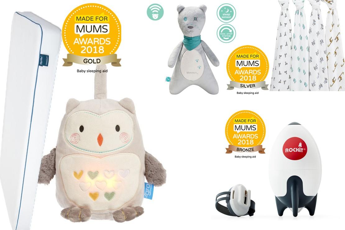 Baby sleeping aid winners MFM Awards 2018
