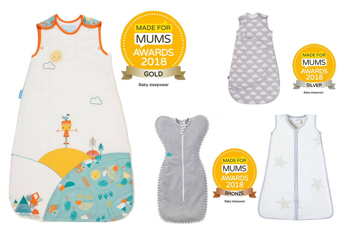 Baby sleepwear winners MFM Awards 2018