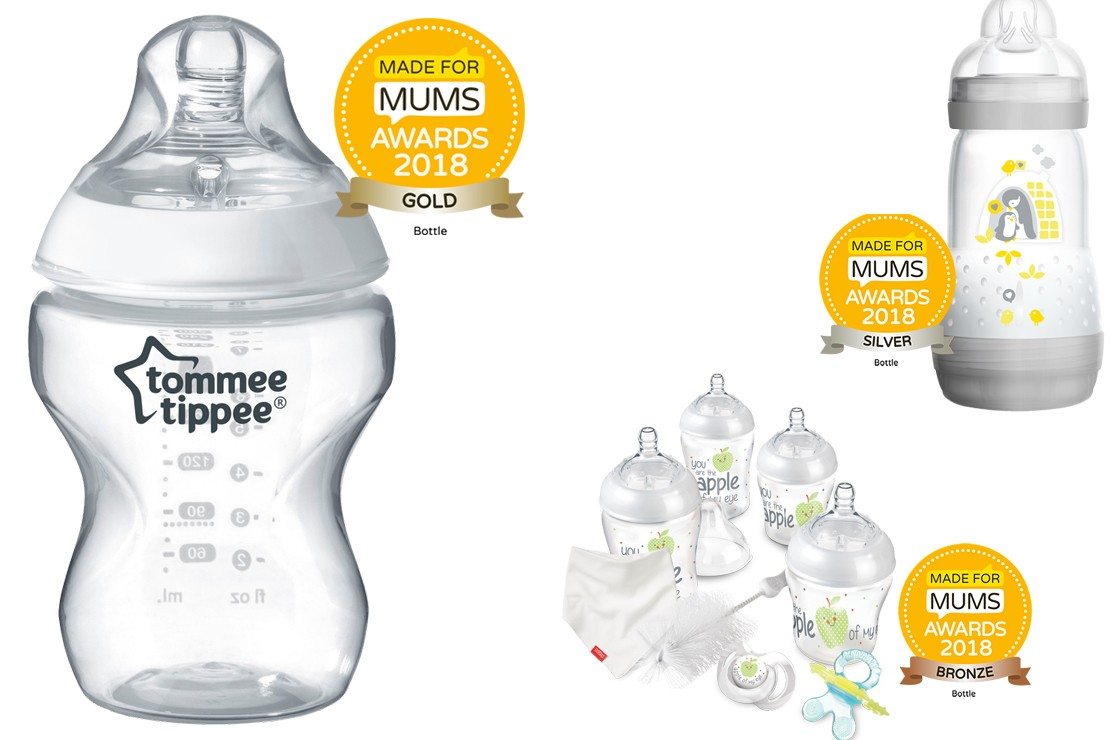 Baby bottles MFM Awards winners 2018