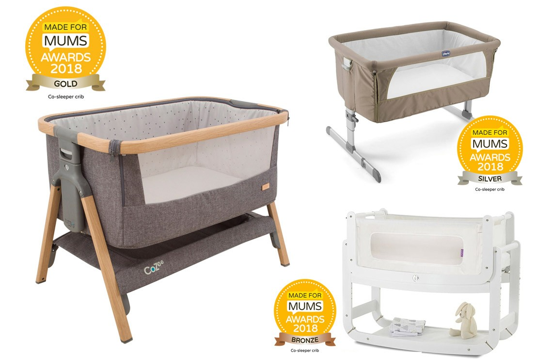 Co-sleeper crib MFM Awards 2018 winners