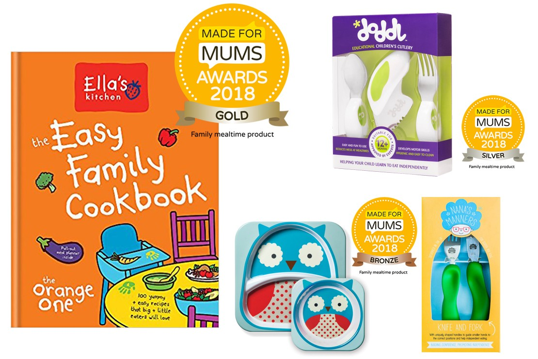 Best family mealtime product winners MFM Awards 2018