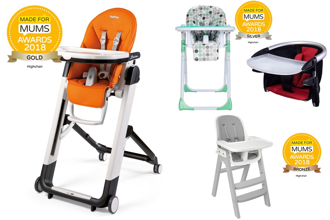 Best highchairs MFM Awards 2018