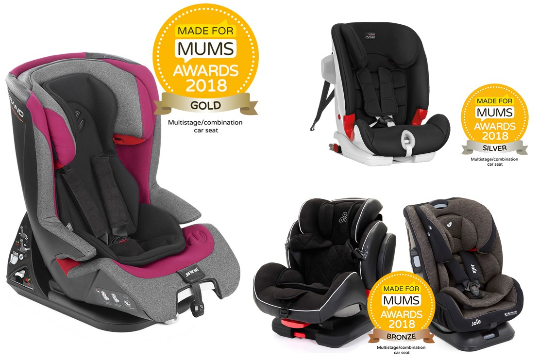 Multistage car seat winners 2018